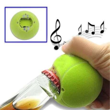 Décapsuleur sonore balle de tennis