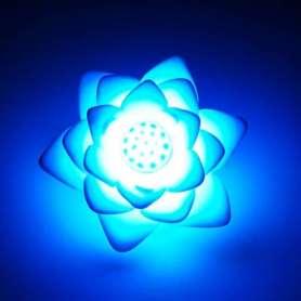 Lampe lotus LED 7 couleurs