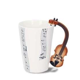 Tasse musique anse violon