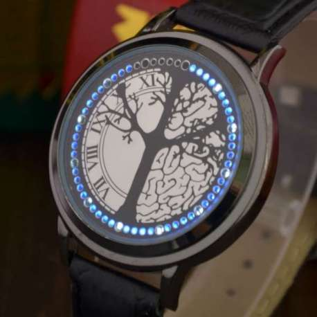 Montre arbre tactile LED