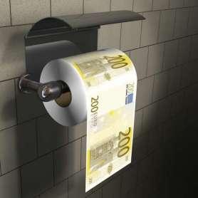 Papier toilettes billet de 200 euros