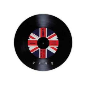 Range-clés vinyle drapeau du Royaume Uni