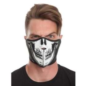 Masque squelette en néoprène