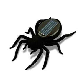 Araignée à énergie solaire