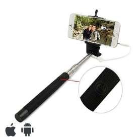 Perche selfie à câble