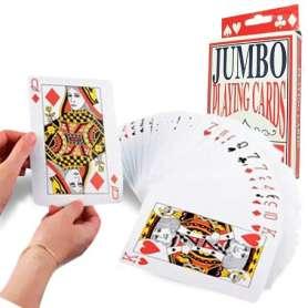 Jeu de carte 54 cartes XXL