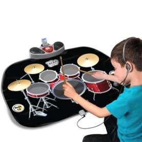 Tapis batterie musical et haut-parleur