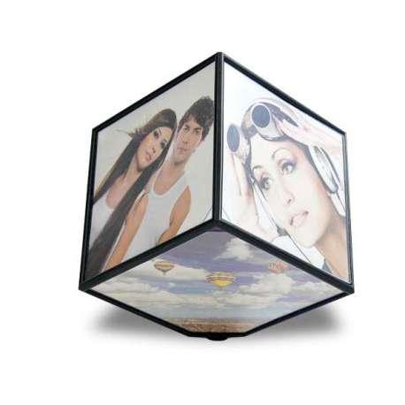 Cube photos rotatif 360°