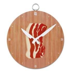 Horloge murale avec dessin de poitrine de porc