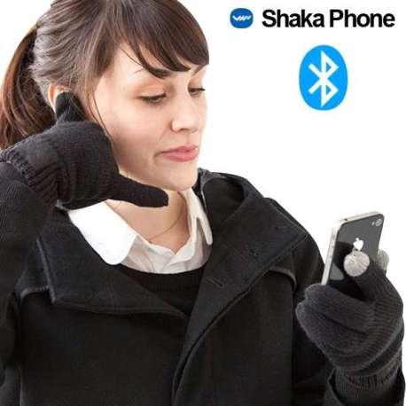 Gants kit mains libres Bluetooth et tactile