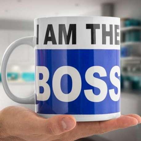 Tasse XXXL « I am the boss »