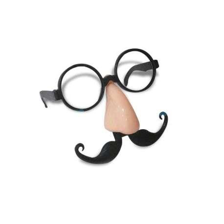 Kit de fausses lunettes, nez et moustaches