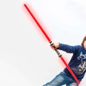 Sabre laser à double lames
