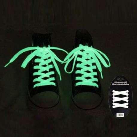 Lacets fluorescents pour chaussures