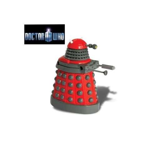Figurine Docteur Who Dalek rouge animé