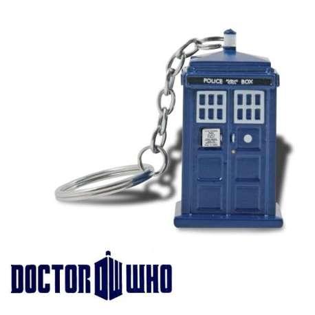 Porte-clés lampe LED Tardis Docteur Who