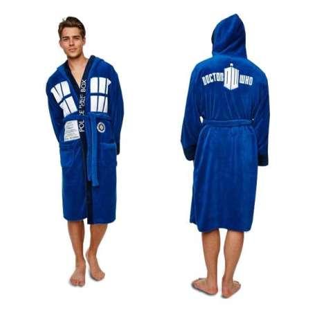 Peignoir costume Tardis Dr Who