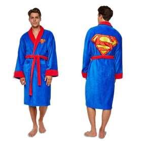 Peignoir Superman avec logo
