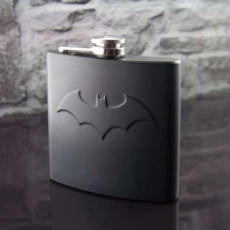 Flasque Batman en inox