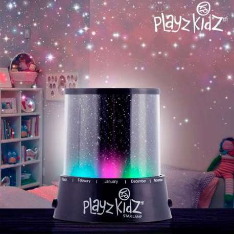Veilleuse LED Projection de Ciel Étoilé Playz Kidz