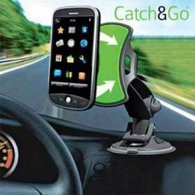 Support Universel pour Voiture Catch & Go smartphone ou GPS