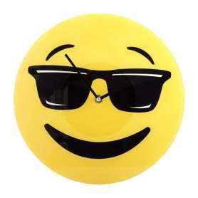 Horloge émoji lunettes de soleil Emoticone