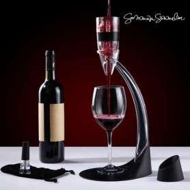 Décanteur de vin avec pied aérateur deluxe