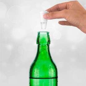 Bouchon de bouteille avec lumière LED