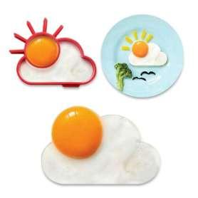 Moule soleil en silicone pour œuf sur plat