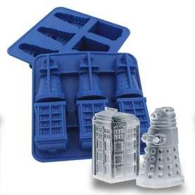 Bac à glaçons Dalek et Tardis Dr Who