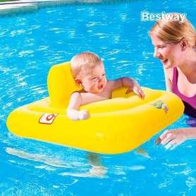 Bouée siège gonflable pour bébé de 0 à 24 mois