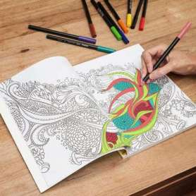 Livre de coloriage anti stress pour adultes