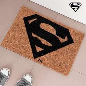 Tapis d'entrée paillasson au logo de Superman
