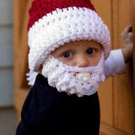 Bonnet pour enfant Père Noël