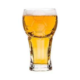 Chope pour bière en forme de ballon de foot