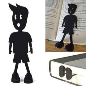Marque-pages petit garçon noir