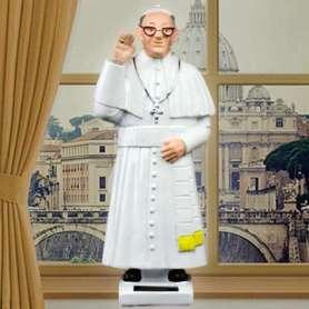 Figurine pape solaire