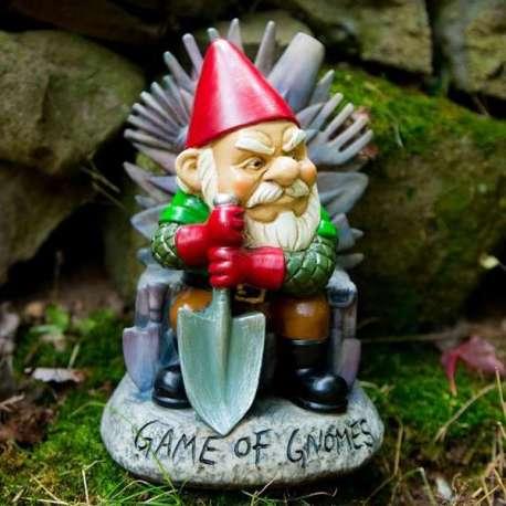 Nain de Jardin Game of Gnomes en résine (game of throne)