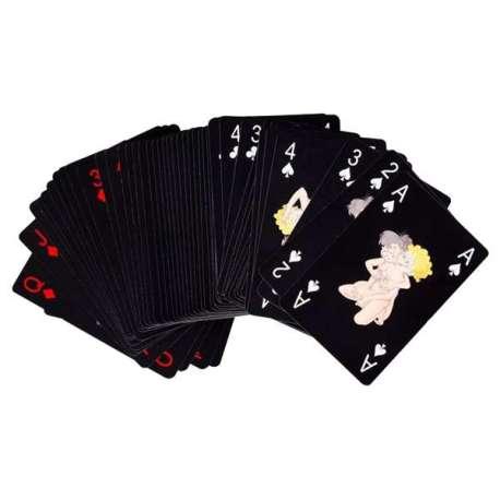 Jeu de 54 cartes coquin avec position Kamasutra