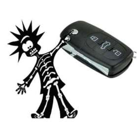 Clé de voiture à électrochoc
