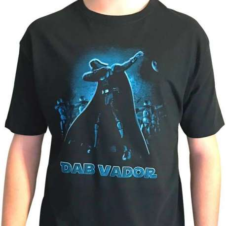 T-Shirt humoristique Dab Vador (star wars)