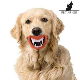 Jouet pour chien bouche à dents de vampire