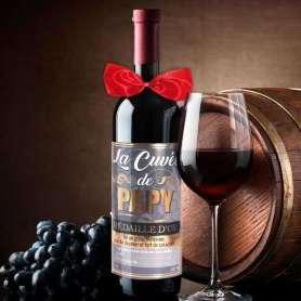 Bouteille de vin pour grand-père