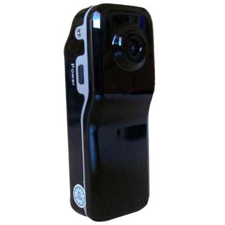 Caméra webcam vidéo en plastique noire