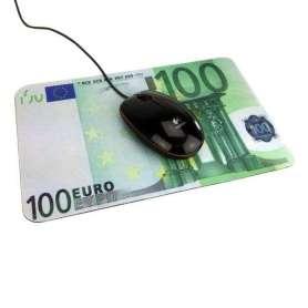 Tapis de souris billet de banque 100 euros