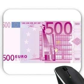 Tapis de souris billet de banque 500 euros