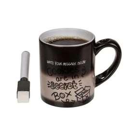 Tasse à message caché thermoréactif avec stylo à encre invisible