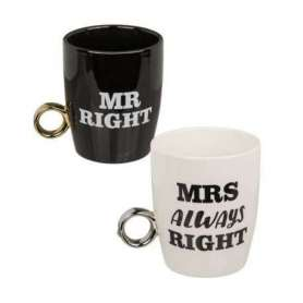 Duo de tasse Mrs & Mr Right