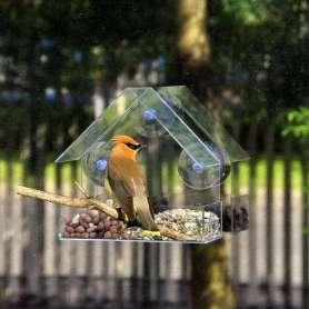 Maison mangeoire pour oiseau