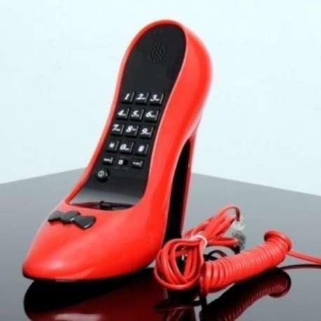 Téléphone Fixe Talon Aiguille